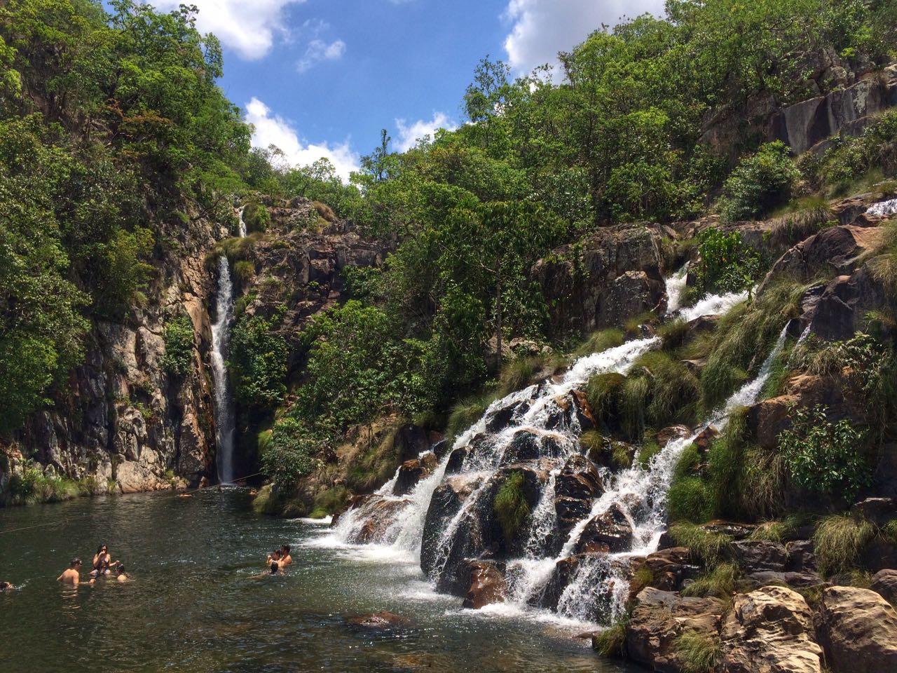 Cachoeira do Salto 2, que tem 80 metros de altura