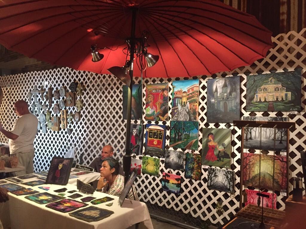 feira descolada na Frenchmen Street
