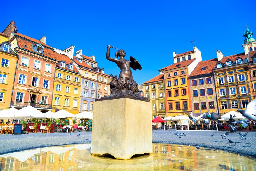 Market Square, em Varsóvia