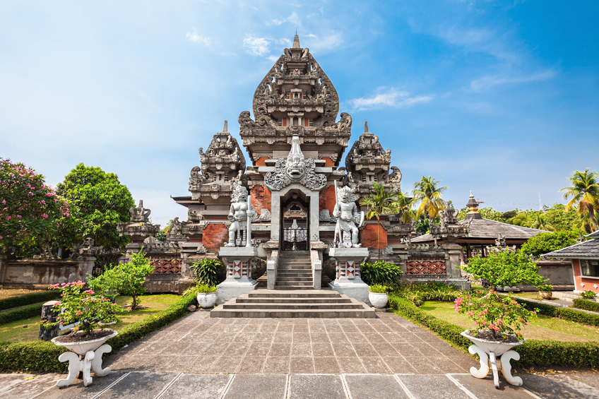 The Balinese style Indonesia Museum, Jakarta