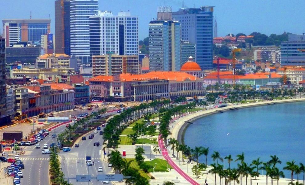 Vista de Luanda, capital de Angola