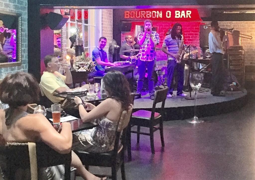 Jazz no Bourbon O Bar