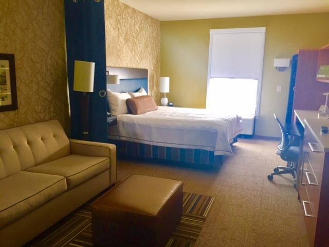 Ótima opção de hospedagem no novíssimo hotel Home 2 Suites by Hilton Parc Lafayette.