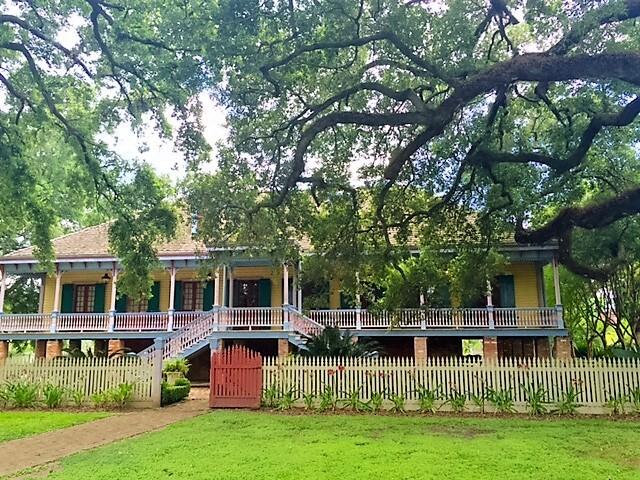 A colorida Laura Plantation - Fazenda em estilo Creole - foto Ana Paula Garrido/O melhor da viagem