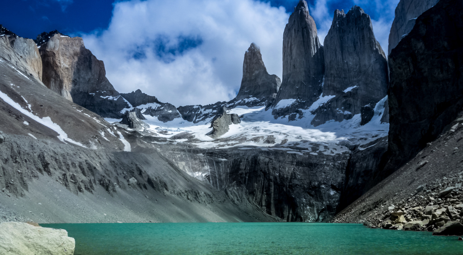 Torres del Paine, na Patagônia chilena