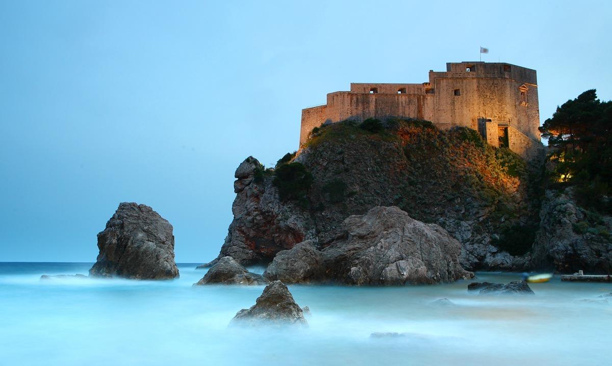 Dubrovnik, na Croácia, foi a sede do Trono de Ferro, em