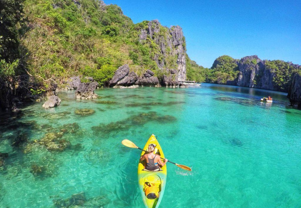 Big Lagoon em El Nido, Filipinas