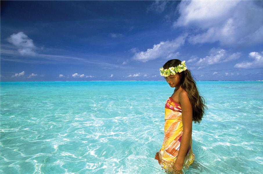 Lagoon de Huahine, Polinésia Francesa