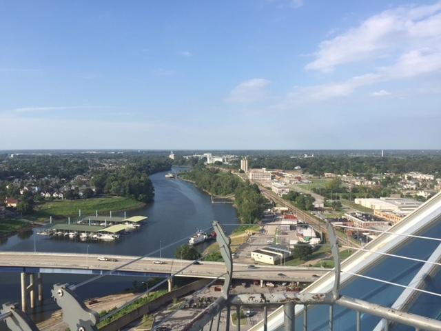 vista para o Rio Mississippi