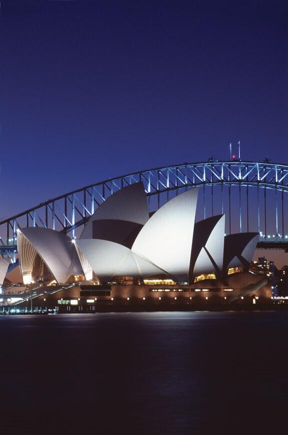 Opera House, um dos cartões-postais de Sydney