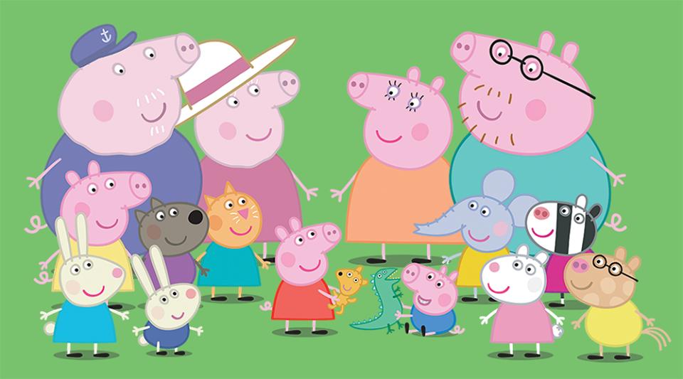 """Créditos: 10420091_1702866896604188_5742046063358564426_n. O desenho  animado """"Peppa Pig"""" ..."""