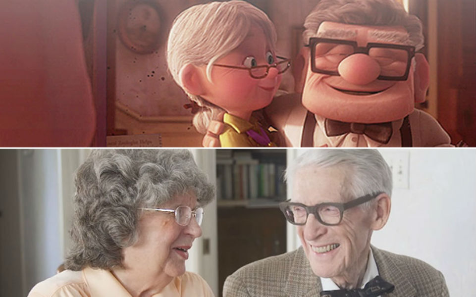 Casal Comemora 60 Anos De Casamento Recriando Cenas Do Filme Up