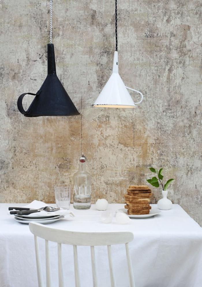 aprenda a fazer lumin ria com objetos da cozinha. Black Bedroom Furniture Sets. Home Design Ideas