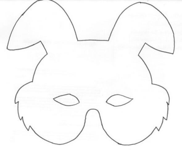 Moldes Para Imprimir E Fazer Sua Própria Máscara De Carnaval