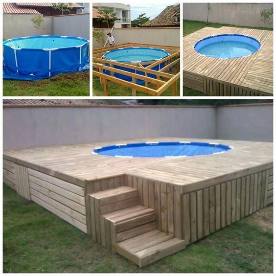 5 piscinas improvisadas e mais acess veis para aliviar o calor for Piscina 3 re