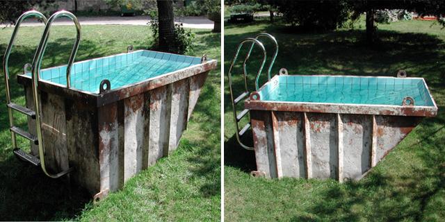 5 piscinas improvisadas e mais acess veis para aliviar o calor for Piscinas redondas desmontables baratas
