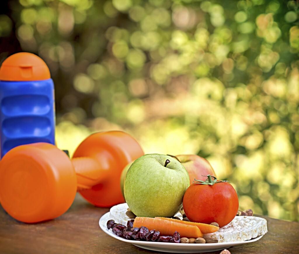 Atividade física aliada a alimentação saudável