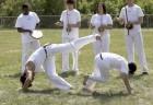 Capoeira ao ar livre no parque