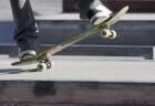 Pessoa andando de skate