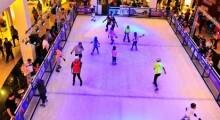 Patinação no gelo no Mooca Plaza Shopping
