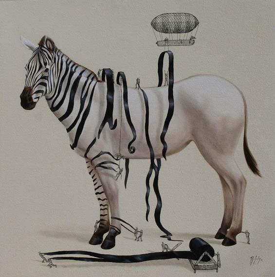 Pinturas Imaginam A Origem Das Formas Dos Animais