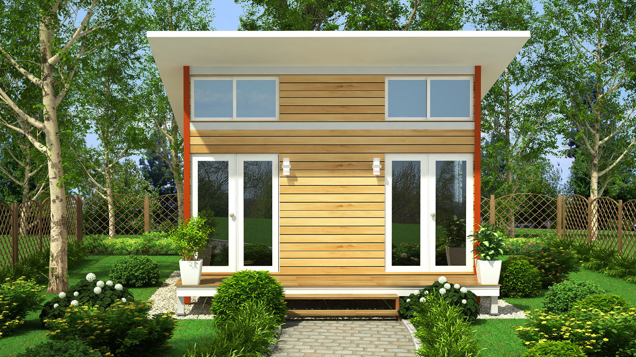 Empresa quer construir casas para abrigar sem teto em portland for Small house outlook design