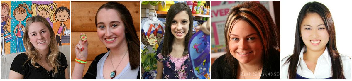 Cinco garotas que se tornaram milionárias antes dos 20 anos