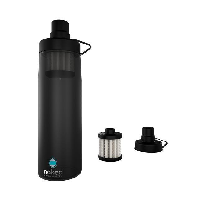 A garrafa também é solução para ajudar no sistema de água potável de países desenvolvidas/ Foto: Reprodução