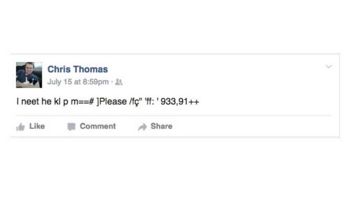 Os amigos conseguiram interpretar o texto da mensagem (Imagem: Reprodução)