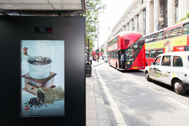 M&C Saatchi, Artificial Intelligence Poster, Oxford Street Londo