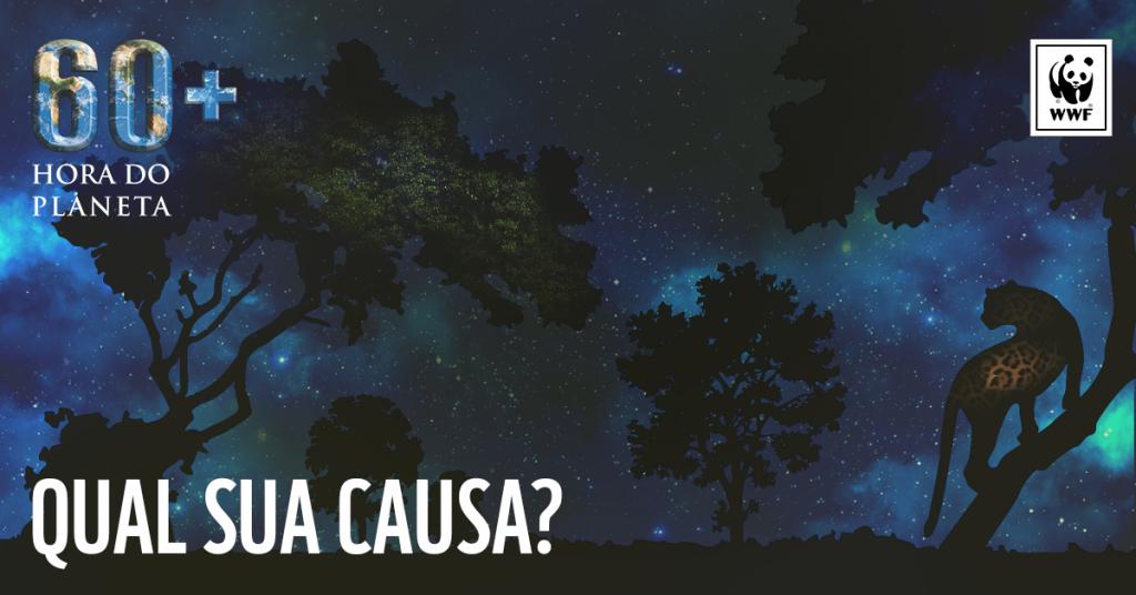 Floresta Amazônica concorre a causa ambiental mais importante do Brasil em campanha da WWF