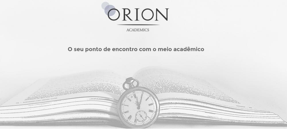 Lançada por ex-alunos da UFSCar e Unicamp, Orion Academics tem abertura de editais, eventos, cursos e chamadas para publicações de artigos