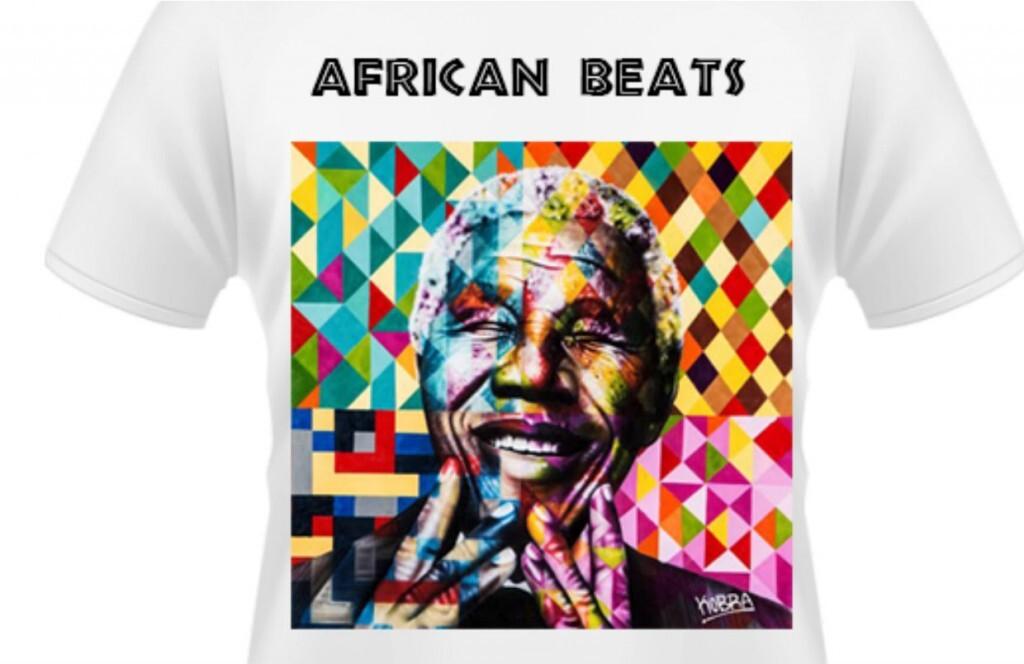 Estampa da camiseta foi doada pelo artista plástico Kobra