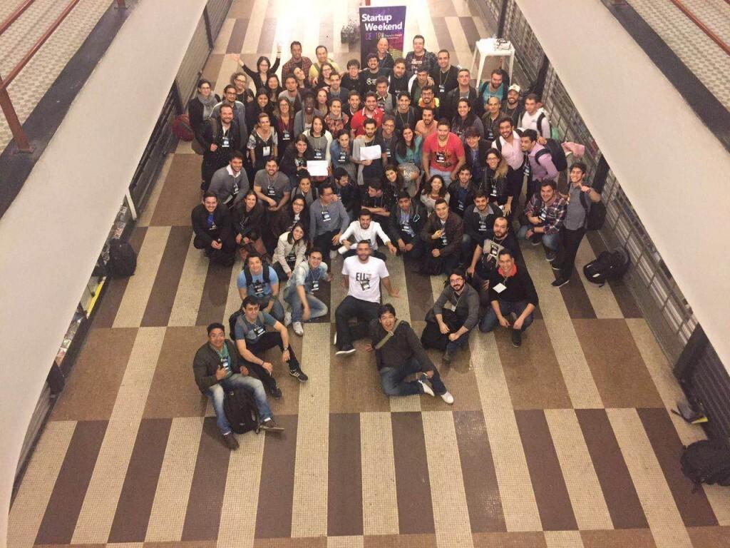 Participantes da última edição brasileira do Startup Weekend