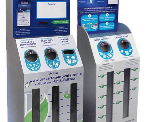 O Programa Descarte Consciente já instalou 708 máquinas em 13 Estados