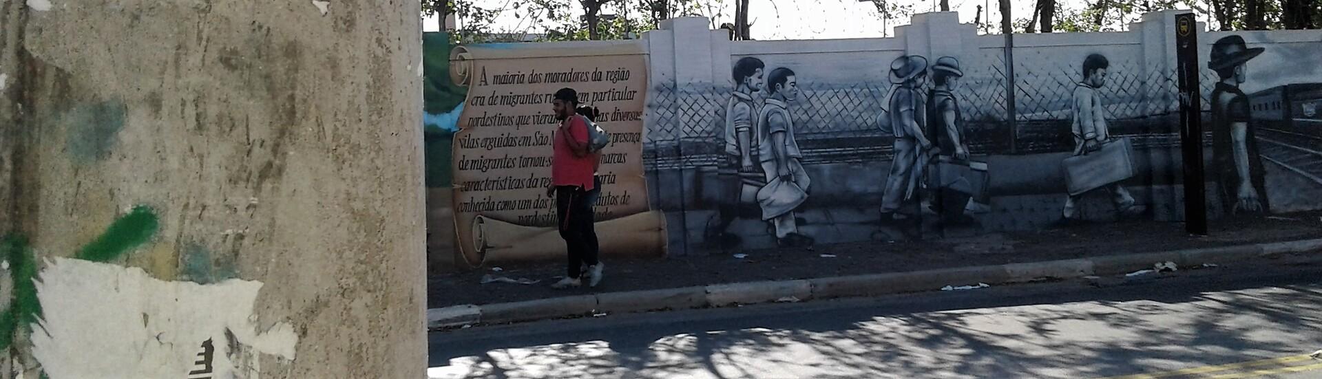 chegada dos migrantes nordestinos a S. Miguel Paulista/SP