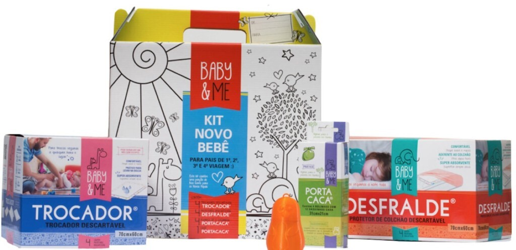 Portfólio da Baby & Me tem 12 produtos, vendidos on-line e em lojas físicas