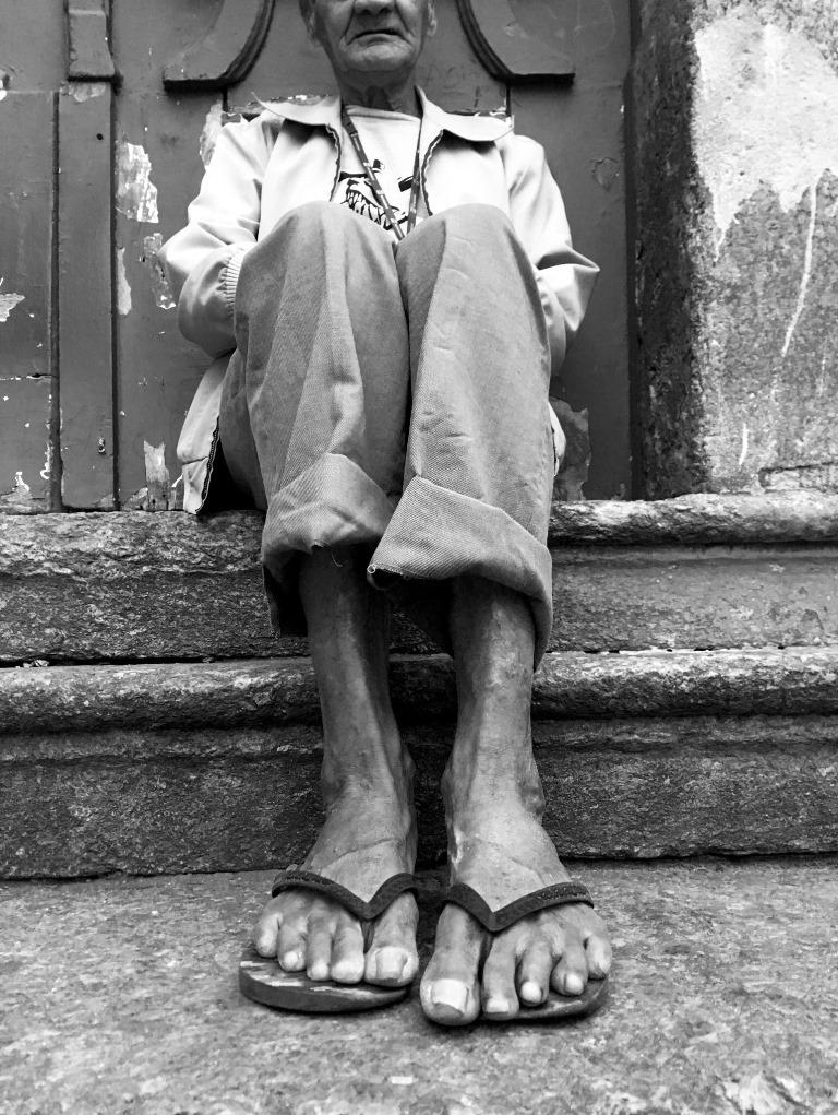 Foto da exposição Favelagrafia