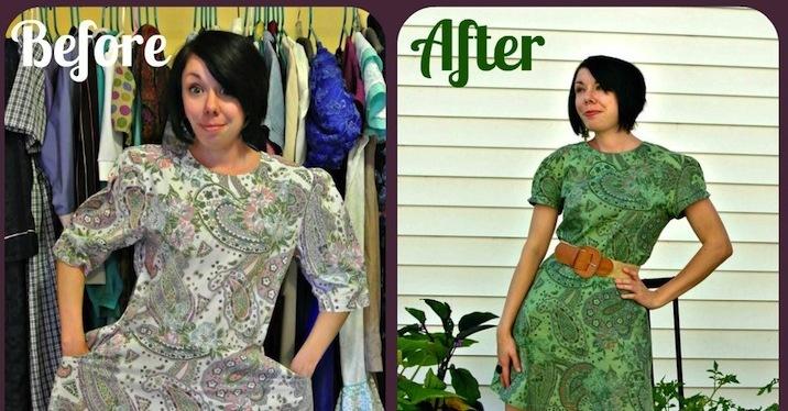 Fashionista transforma roupas em looks estilosos com apenas US$ 1