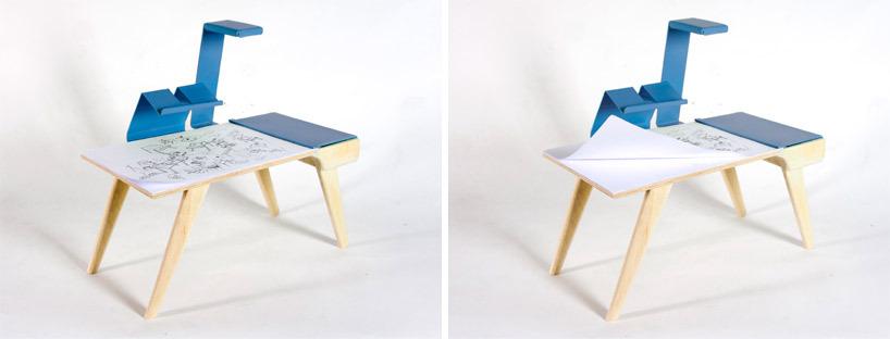 Precisa de um espaço diferenciado para desenhar? Essa é uma das mesas estilosas que podem agradar