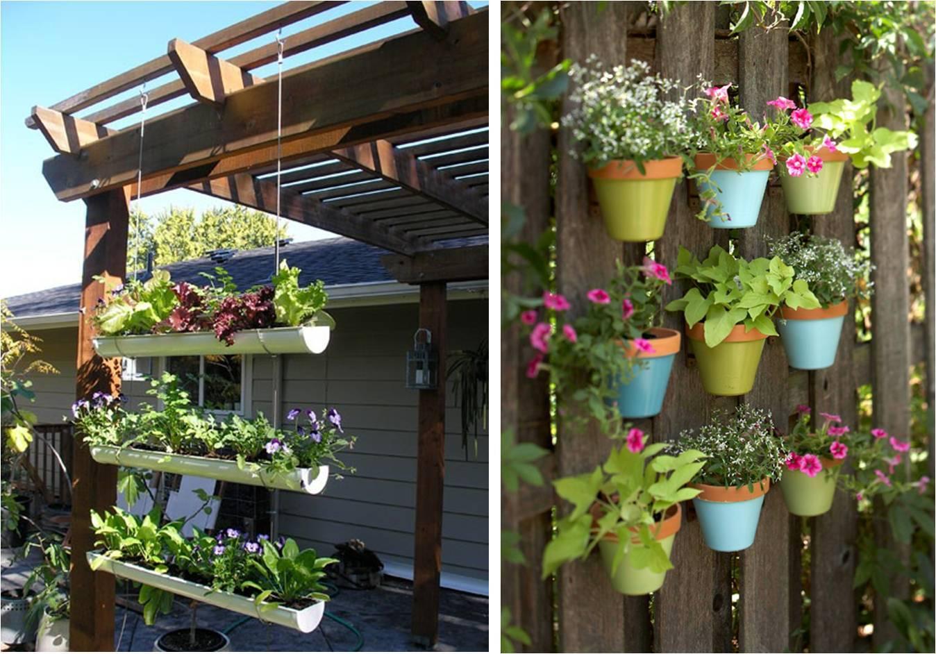 jardim ideias simples : jardim ideias simples:Quintal Jardim Vertical