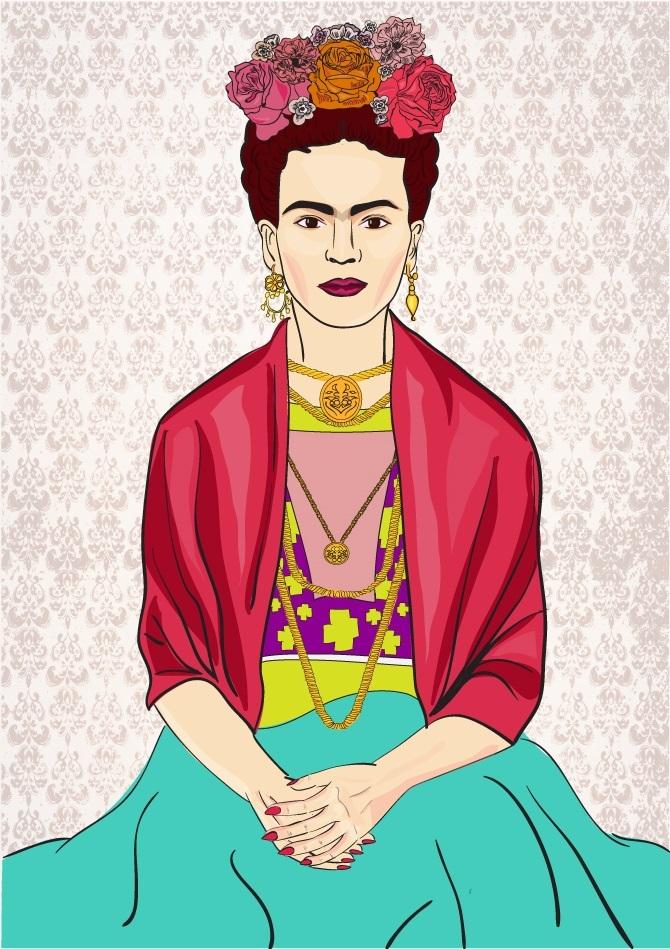Os itens marcantes do estilo de frida kahlo - Estilo frida kahlo ...