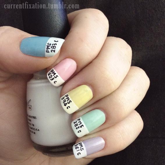 55 Super Easy Nail Designs: Aprenda A Fazer 27 Truques Rápidos De Nail Art E Economize