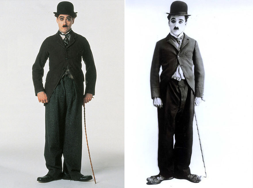 Theme of the day:charlie chaplin robert downey jr movie Robert Downey