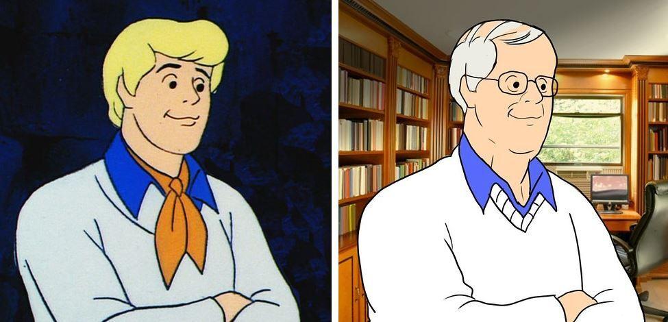 Como estariam os personagens de scooby doo e doug hoje - Personnages de scooby doo ...