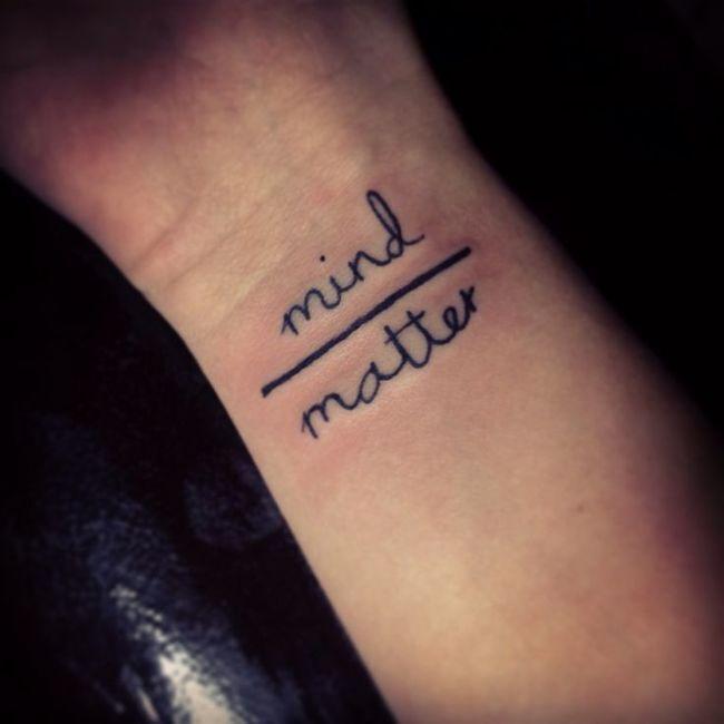 23 Tatuagens Com Mensagens Inteligentes E Criativas