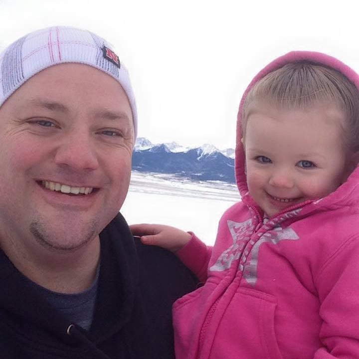 Greg Wickherst e sua filha
