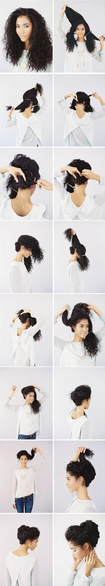 17 Penteados Para Quem Tem Cabelo Cacheado