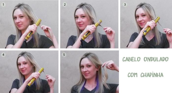 Extremamente Tutoriais: 4 formas de enrolar o cabelo utilizando chapinha SN86