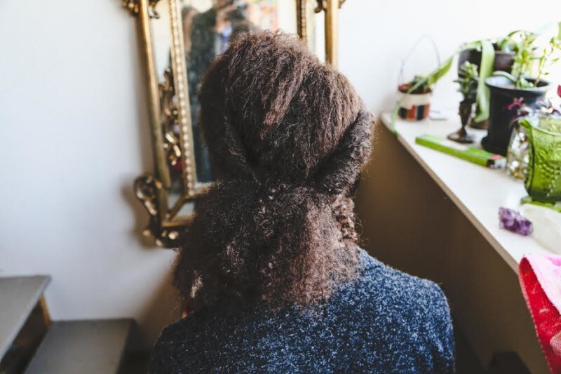 penteado floral afro (2)